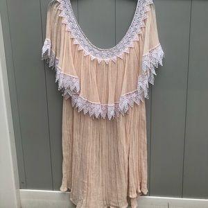 New Jen's Pirate Booty gauze dress.